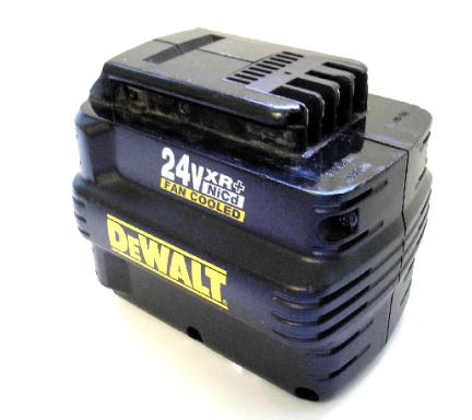 cb0008 refurb 24v dewalt fan cooled nicad battery refurb 2500mah