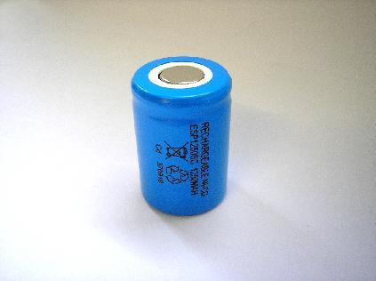 Esp 0 13 0000 4 5 Sub C Cell Nicad 1250mah Battery